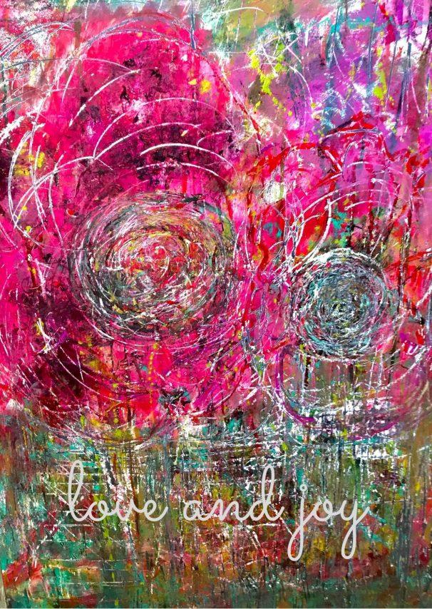 Art card - Love and Joy