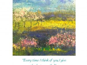 One of Sally's paintings